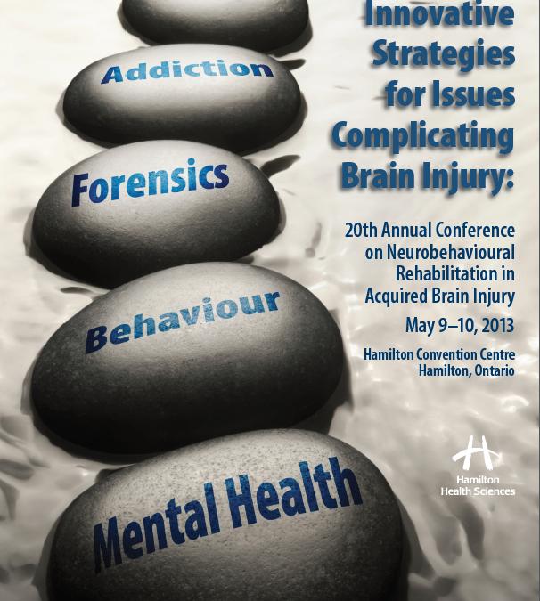 20th Annual Conference on Neurobehavioural Rehabilitation in ABI- Hamilton